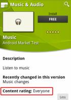 Testez les nouvelles versions des applications Musique & Appareil photo d'Android