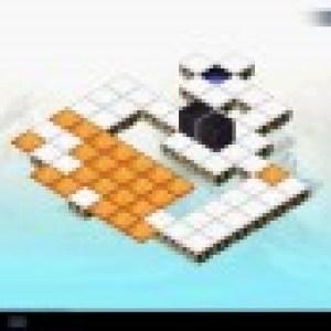 Brain Cube : un jeu de puzzle, où il faut déplacer des blocs