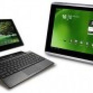 L'Acer Iconia Tab A500 et l'Asus EeePad Transformer recevront Android 3.1 début juin
