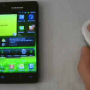Une souris Bluetooth compatible avec le Samsung Galaxy S II et les tablettes sous Android 3.1