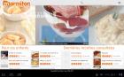 L'application Marmiton compatible tablette Honeycomb
