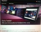 Sony dévoilera la Tablet S (S1) mi-septembre au Canada