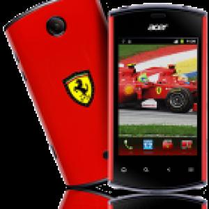 Acer vient d'annoncer le Liquid Mini Ferrari Edition