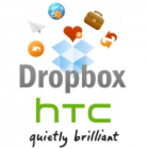 HTC et Dropbox pactisent afin d'offrir 5Go d'espace de stockage en ligne gratuitement