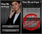 Après « Juif ou pas juif », voici « Mon fils est-il gay ? » pour Android