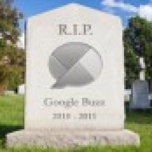 Google Buzz ne sera plus dans quelques semaines