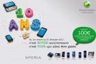 Sony Ericsson rembourse jusqu'à 100€ sur l'achat d'un Xperia