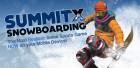 Le jeu SummitX Snowboarding sur appXoid Noël