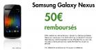 B&YOU : Le Galaxy Nexus à 461 euros grâce à une ODR