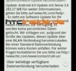 En Allemagne, le HTC Sensation XE profiterait actuellement de la mise à jour vers Android Ice Cream Sandwich