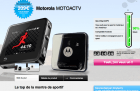 Motorola MOTOACTV en vente flash sur Qoqa