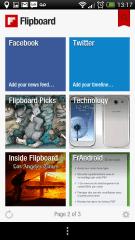 Testez l'application Flipboard sur Android