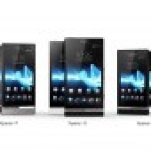 Sony Xperia Z, Xperia C, Xperia E et Xperia Y ?