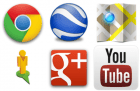 Les applications Google Chrome, Google Earth, Google+, Google Maps, Street View, et YouTube sont mises à jour