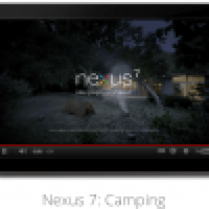 Nouvelle publicité pour la Nexus 7