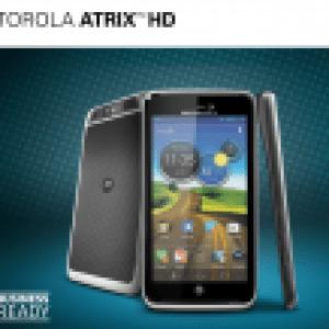 Un aperçu du Motorola Atrix HD sous Ice Cream Sandwich