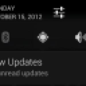 Android 4.2 pourrait inclure une barre de notifications améliorée