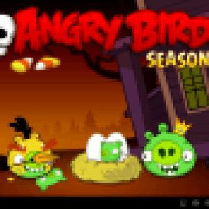 Angry Birds Seasons mis à jour pour Halloween