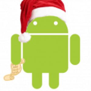 Android nous souhaite de bonnes fêtes à tous !
