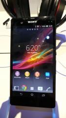 CES 2013 : Prise en main du Sony Xperia Z