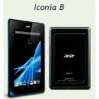 Acer Iconia B : une concurrente à la Nexus 7 ?