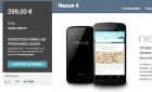 Le Nexus 4 est disponible sur le Google Play