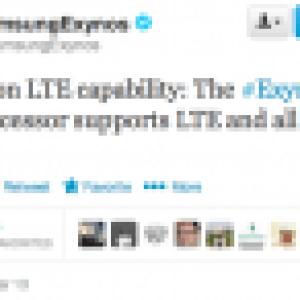Samsung : l'Exynos 5 Octa sera bien compatible 4G (LTE)