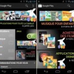 Google Play, les promotions de la fête de Pâques