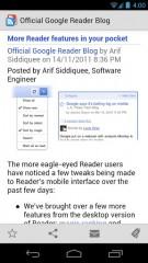 Google Reader ne fonctionnera plus dès le 1er juillet 2013