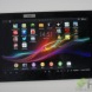 Test de la Sony Xperia Tablet Z (SGP321)