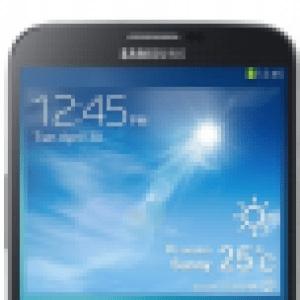 Galaxy Mega 6.3 : le lancement d'Android KitKat débute en Russie