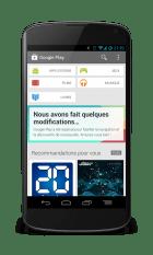 Le nouveau Play Store est en cours de déploiement en France