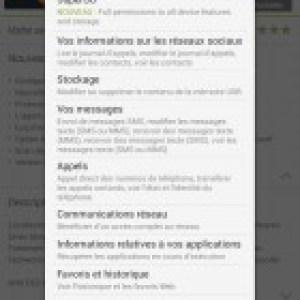 Google Play : une nouvelle autorisation SuperSU apparaît