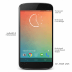 Android 5.0 (Key Lime Pie) s'illustre dans un concept