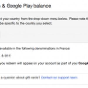 Google lancerait enfin les cartes cadeaux Google Play en France
