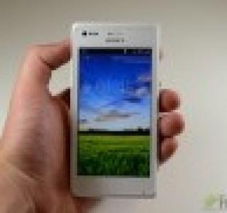 Test du Sony Xperia M