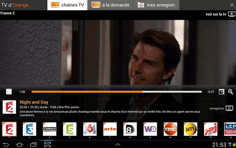 Orange : la TV fonctionne sur n'importe quel réseau