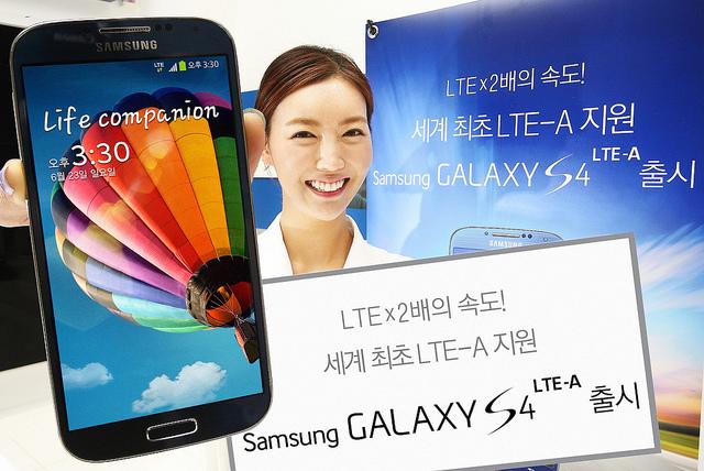 150 000 unités de Galaxy S4 LTE-A livrées en Corée