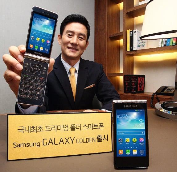 Samsung Galaxy Golden : un second smartphone à clapet officialisé en Corée
