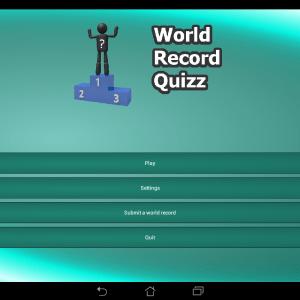 Testez votre connaissance des records du monde avec World Record Quiz