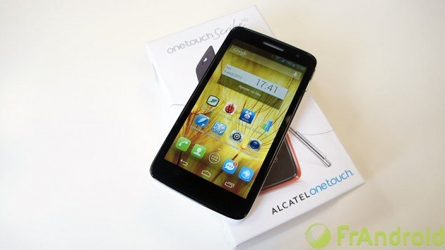 Test du Alcatel One Touch Scribe HD