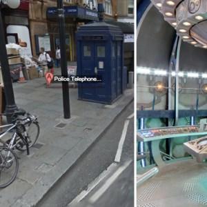 Un easter egg de Doctor Who découvert dans Google Maps