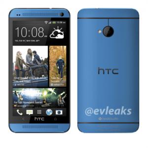 Un HTC One Bleu en fuite