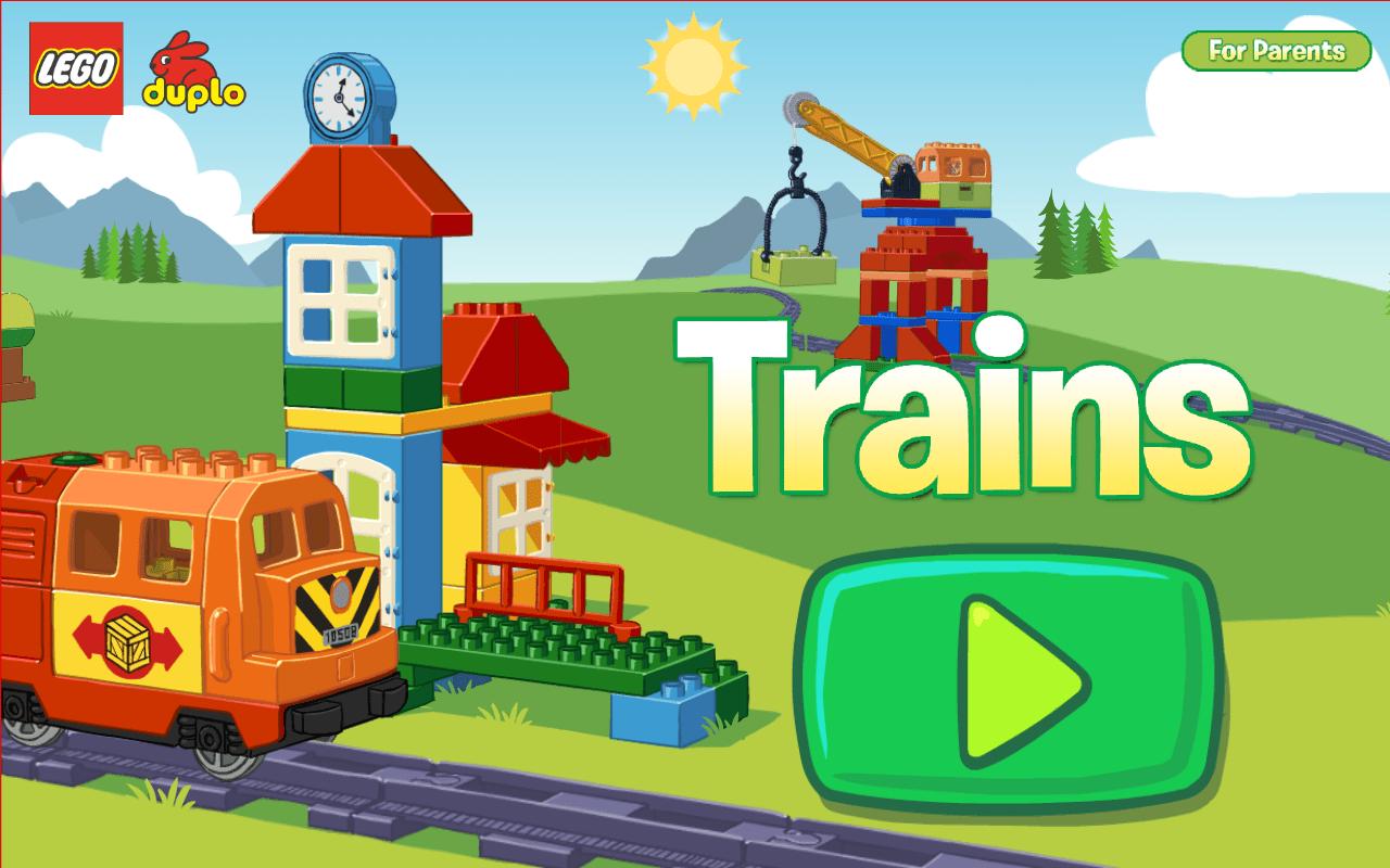 Lego Duplo pose ses rails sur Android avec Lego Duplo Train