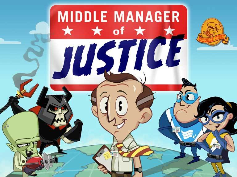 Middle Manager of Justice, un jeu de gestion de super-héros