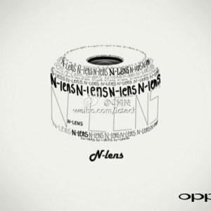 L'Oppo N-Lens N1 montre en photo son capteur de 12 mégapixels