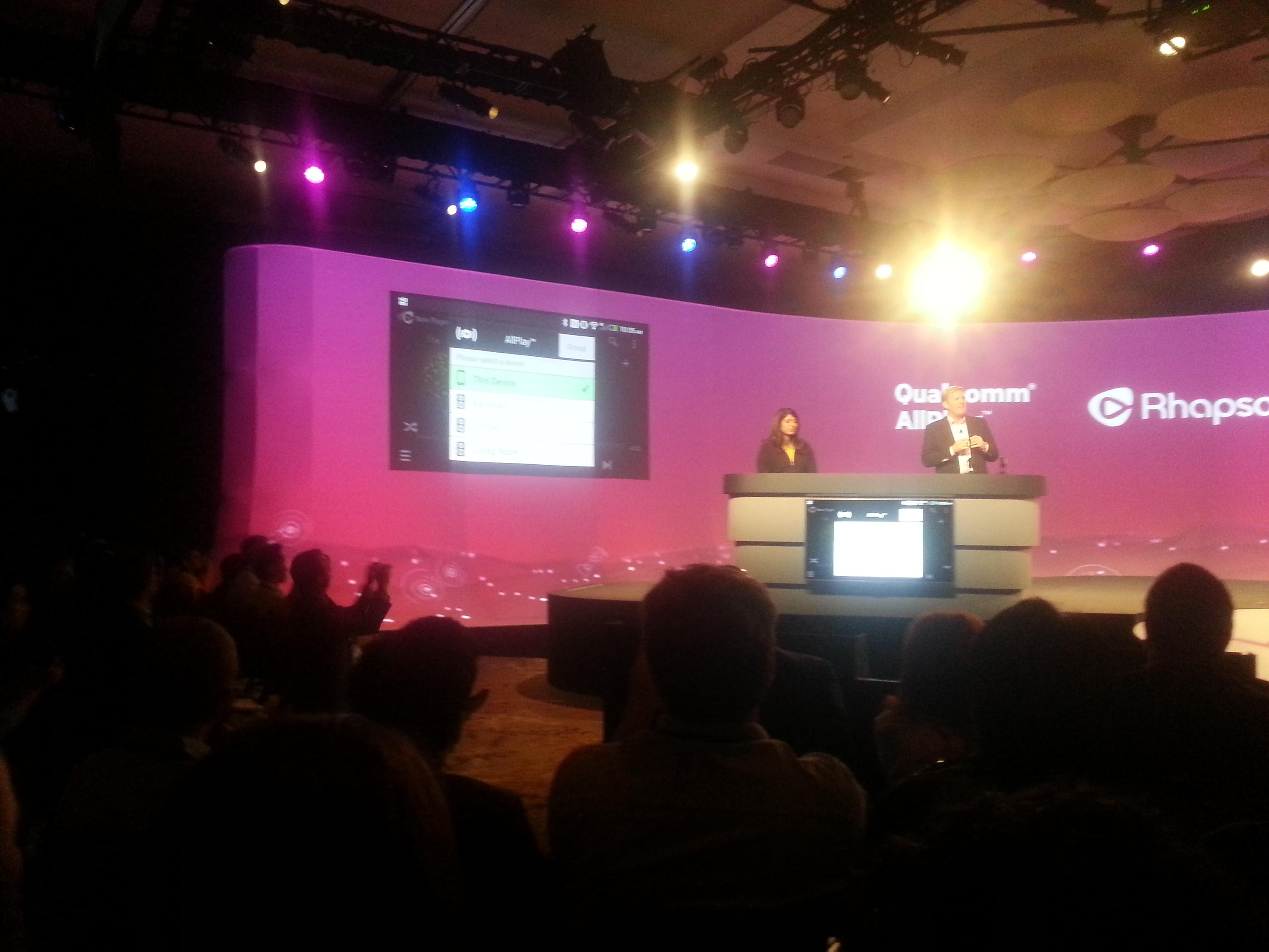 Qualcomm dévoile AllPlay, un système audio multi-pièces