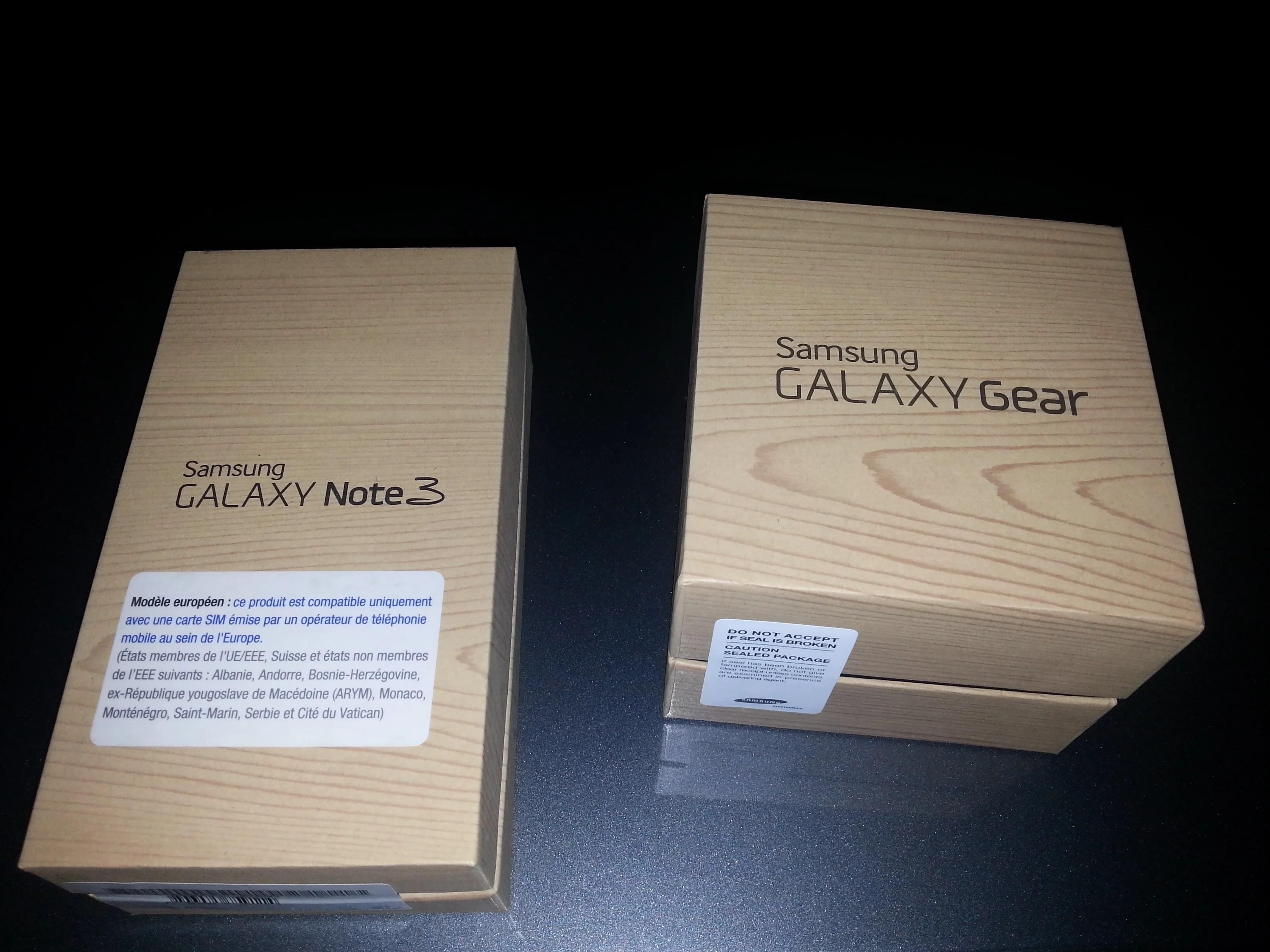 Samsung Galaxy Gear et Galaxy Note 3, l'avis d'un lecteur