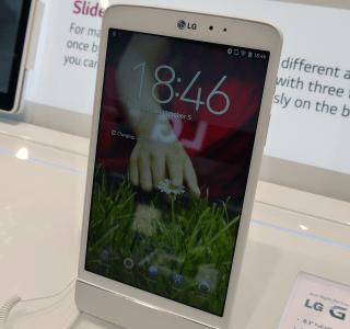 Prise en main de la tablette LG G Pad 8.3