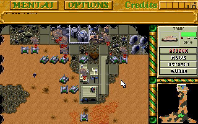 Dune 2, le RTS à l'ancienne s'invite sur le Play Store